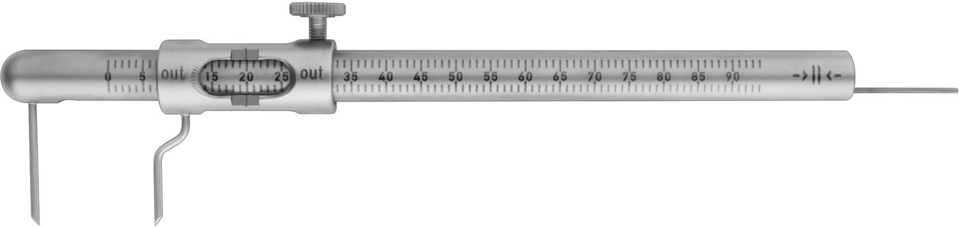 Mini Messlehre 0-100 mm