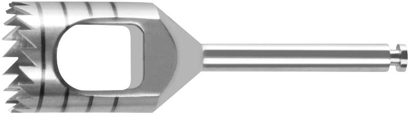 Trepanfräse I = Ø 8.0 mm