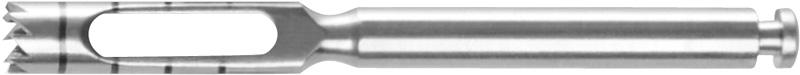 Trepanfräse I = Ø 2.0 mm